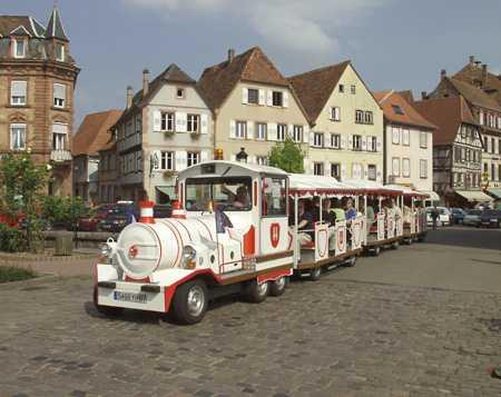 Border tour with the touristic mini-train
