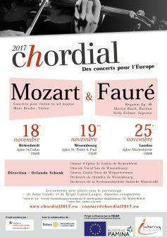CHORDIAL, concert for Europe