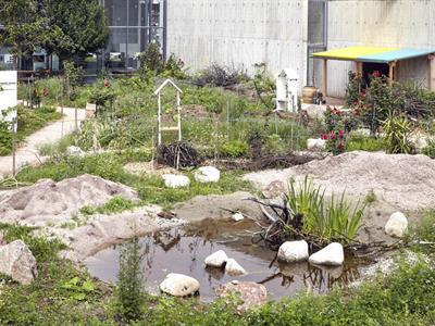 Jardin du FRAC Alsace