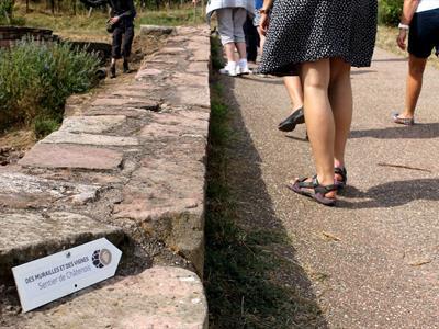 Sentier des Murailles et des Vignes - Châtenois