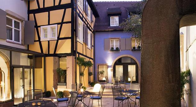 Hôtel Le Colombier, Colmar, Alsace / www.hotel-le-colombier.fr
