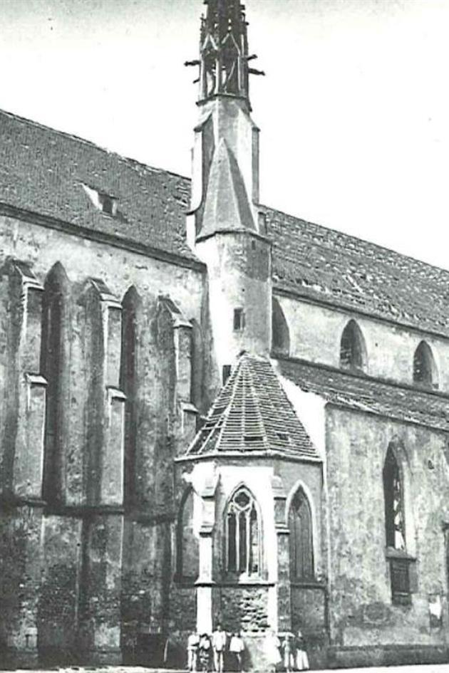 Aspect d'avant 1878, avec la nef