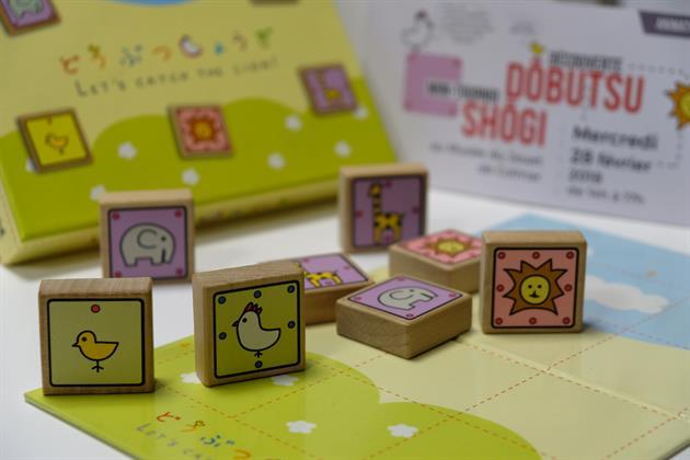 Animation jeu au Dobutsu Shogi - Musée du Jouet de Colmar