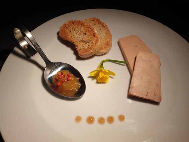 Foie gras du vignoble
