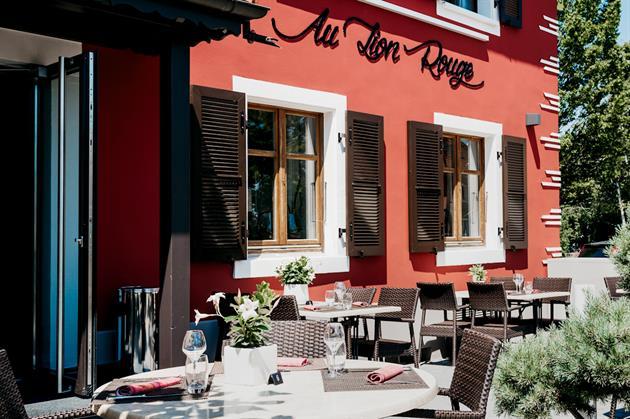 © Hôtel-restaurant Au Lion Rouge