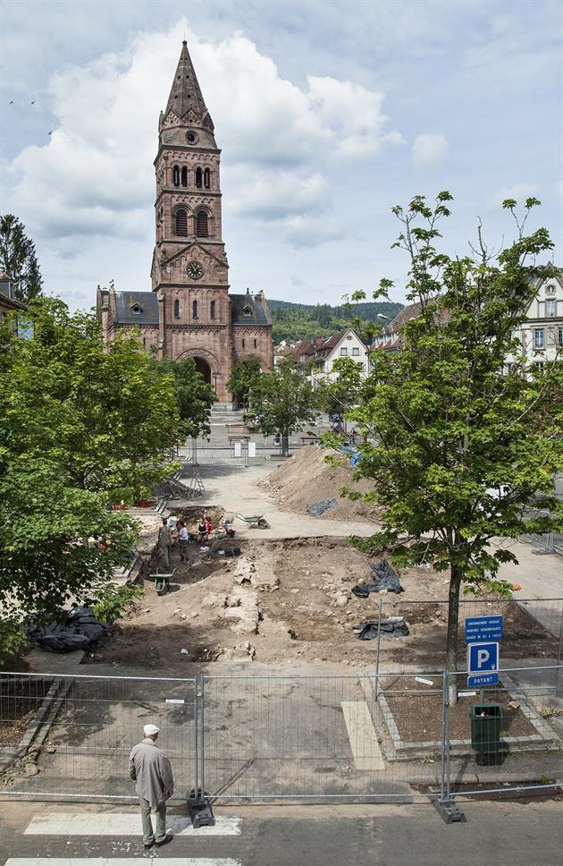 F. Schneikert © Archéologie Alsace
