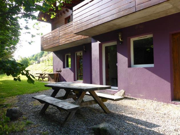 Gîte Cerise - Extérieur Salon de jardin