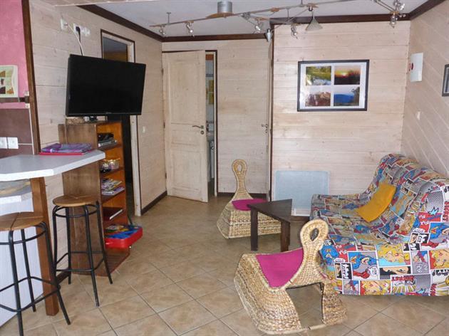 Gîte Cerise - RDC - Salon