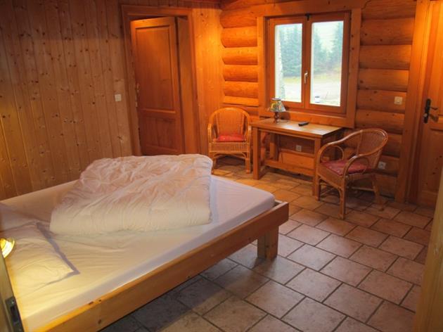 Les Lodges - Chalet Myrtille - Chambre Lit 2 Personnes