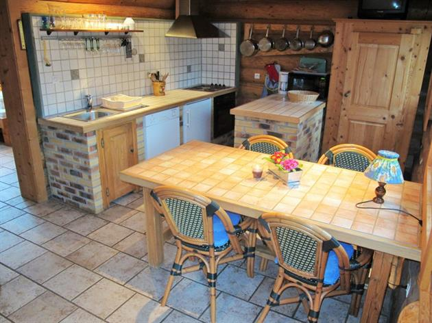 Les Lodges - Chalet Myrtille - Cuisine