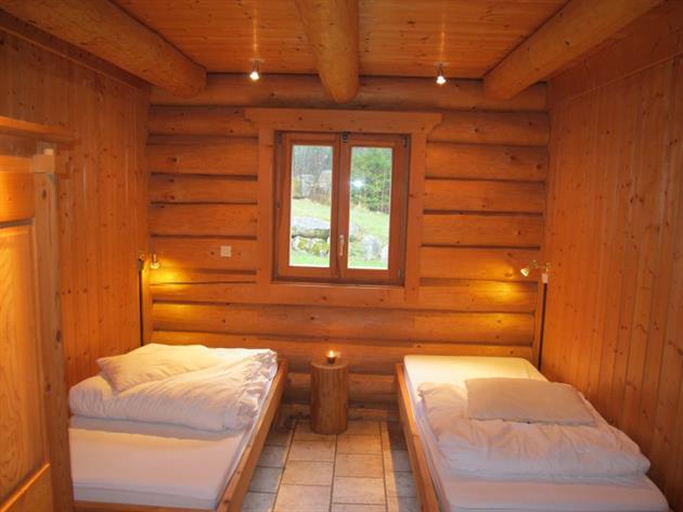 Les Lodges - Chalet Mélèze - Chambre 2 Lits 1 Personne