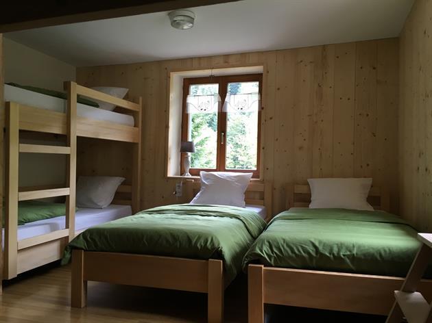 Chambre © Refuge du Neuweiher