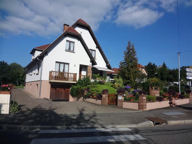 Meublé de M. Munsch, Alsace, vue extérieure