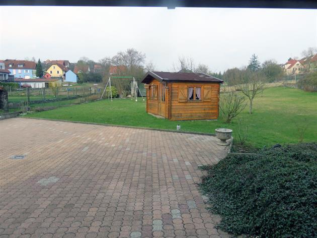 Meublé de M. Munsch, Alsace, vue depuis l'appartement