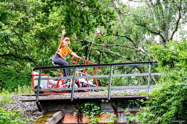 ©Vélo rail Sud Alsace