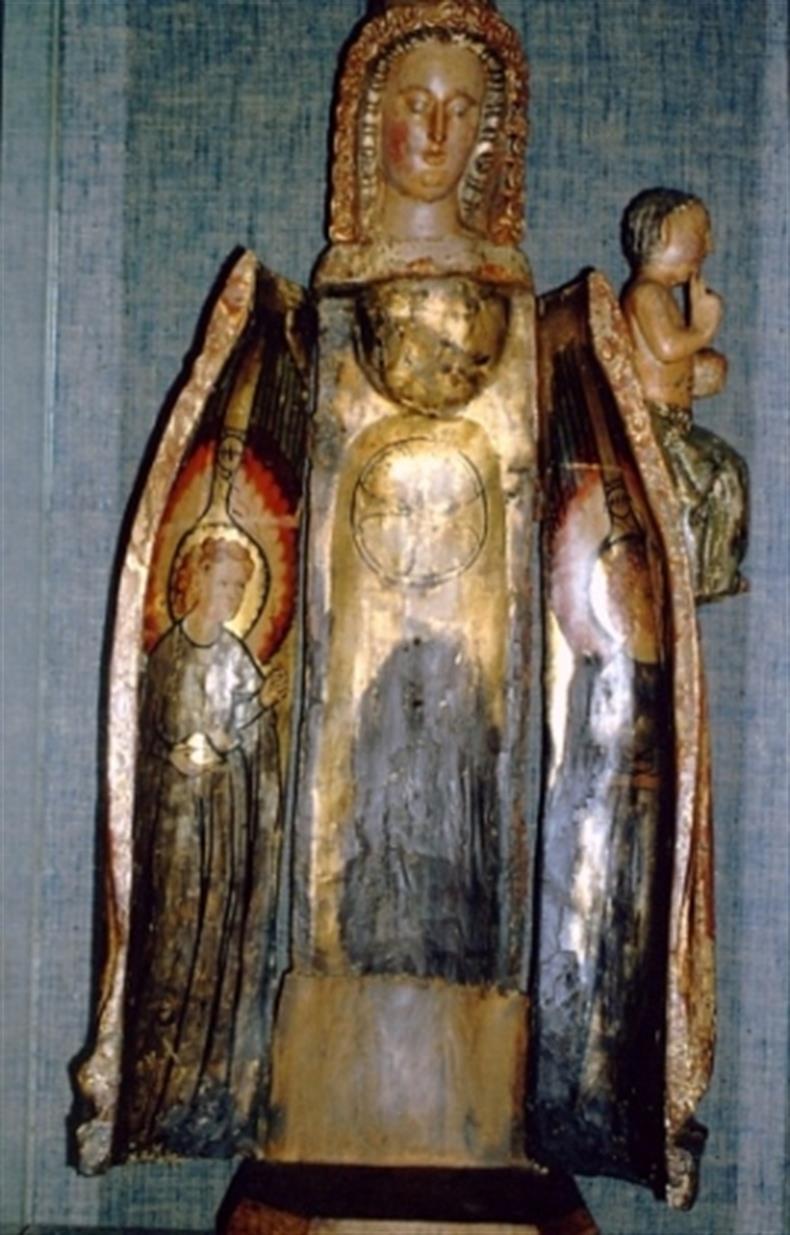 Vierge ouvrante 1380 @Archives de la Ville