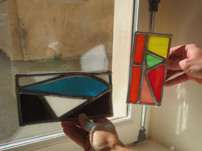 Atelier vitrail aux Ateliers de la Seigneurie