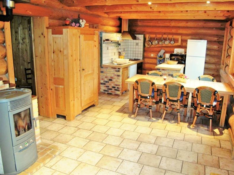 Les Lodges - Chalet Eglantine - Cuisine