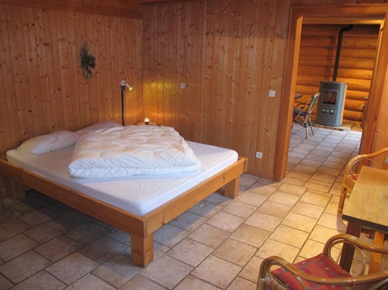 Les Lodges - Chalet Aubépine - Chambre Lit 2 Personnes