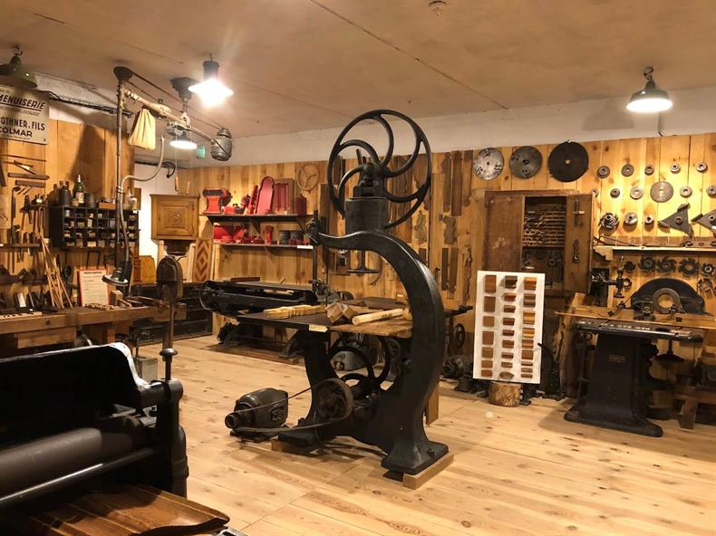 Espace des métiers du bois et du patrimoine de Labaroche