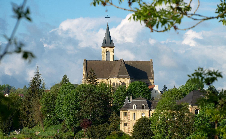 Notre Dame Church in Altkirch