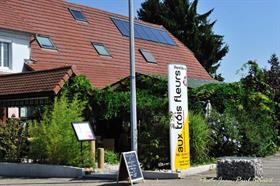 Restaurant aux Trois fleurs  MONTREUX JEUNE