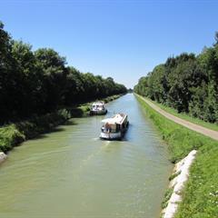 Navigation sur le Canal du Rhône au Rhin - © Office de tourisme du Sundgau