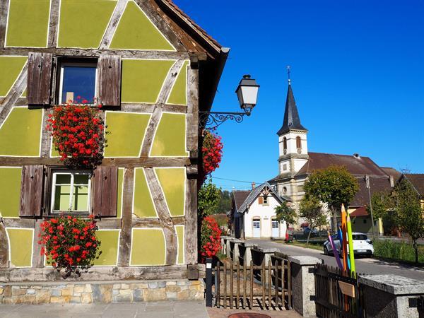 Hirtzbach village