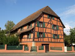 Circuit of timbered houses Friesen