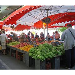 the market - © Sundgau Tourist Office