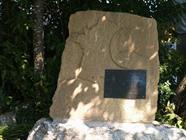 Stèle en mémoire des tirailleurs marocains