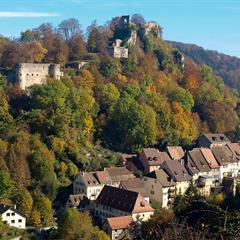 Château et ville de Ferrette - © CR Vianney MULLER