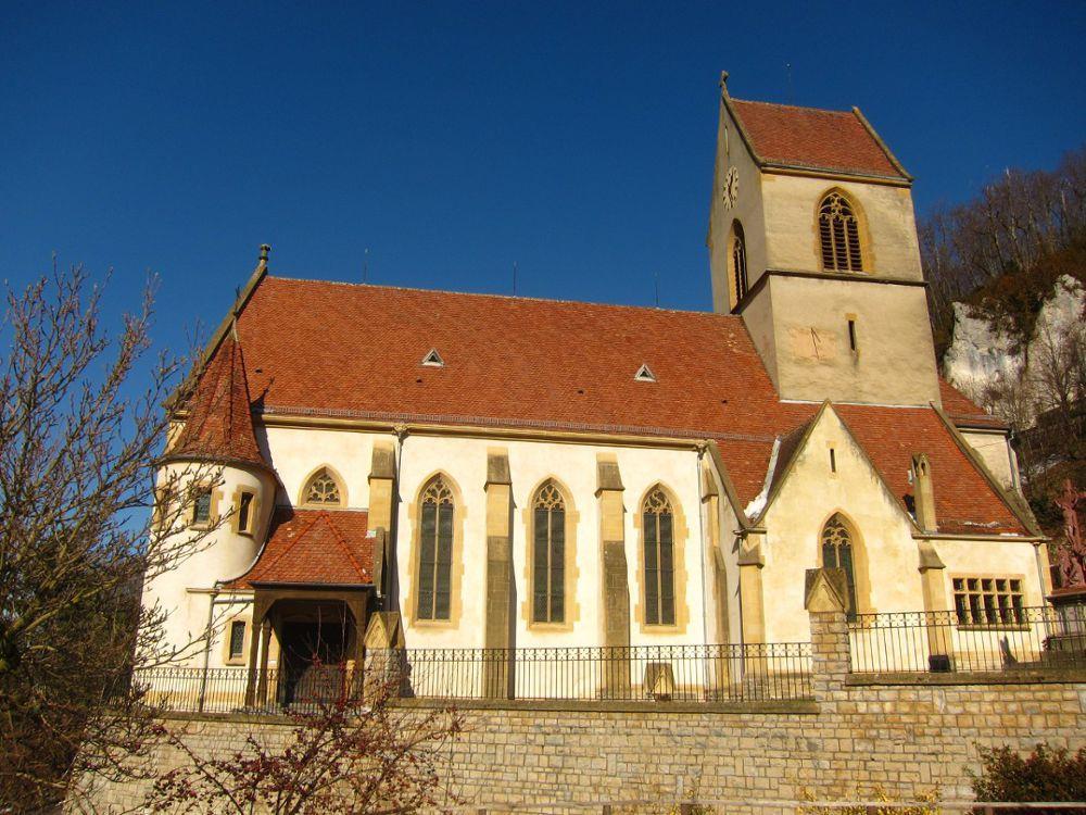 St Bernard Church in Menthon