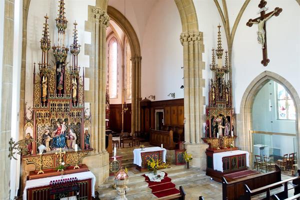 Bernhardiner-Kirche von Menthon
