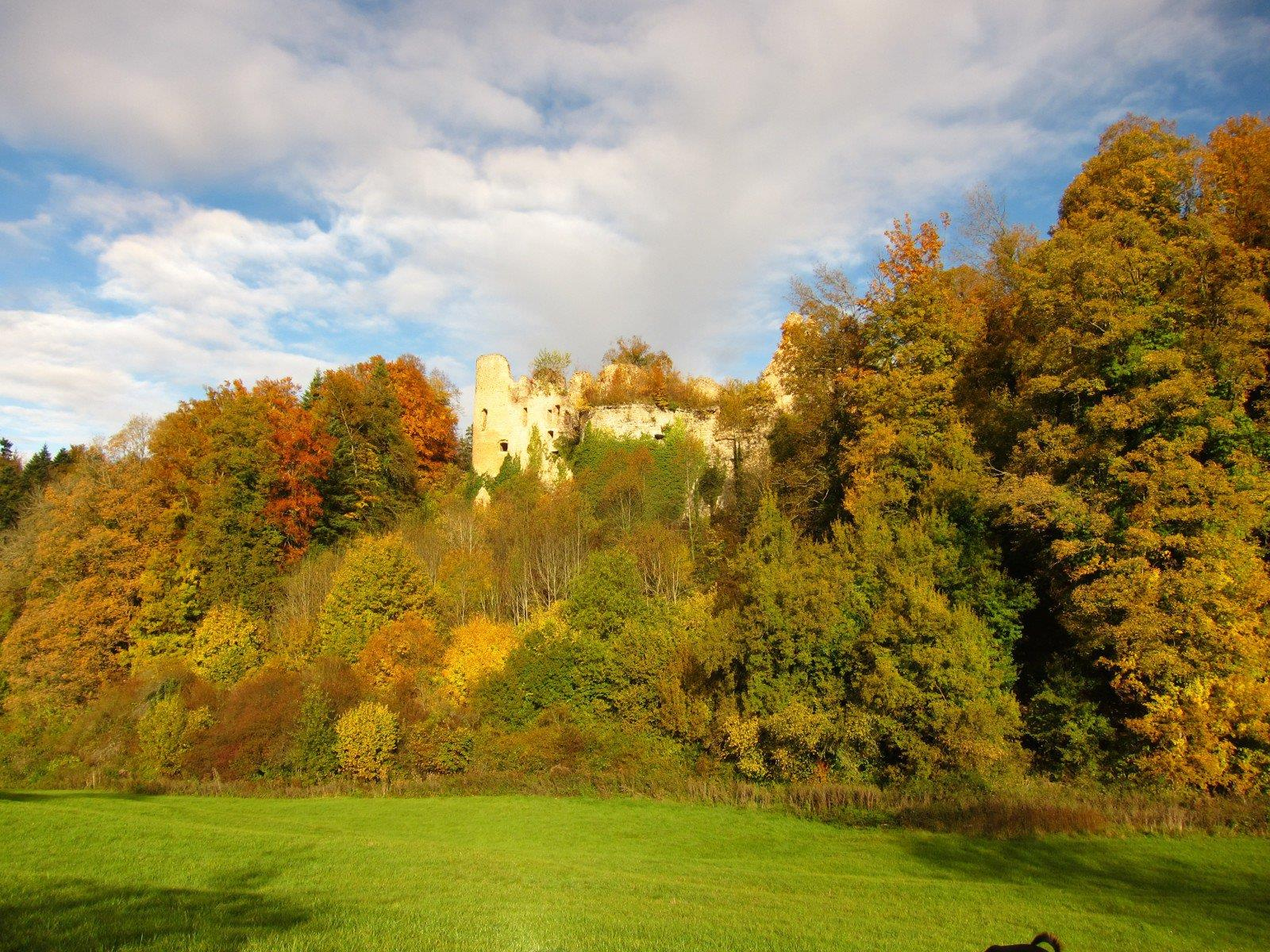 Randonnée pédestre: Oberlarg  le château du Morimont