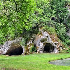 Les grottes du Mannlefelsen ©Vianney-MULLER