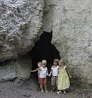 Entrée de la Grotte des nains