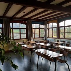 Ancienne salle de classe du Don Bosco