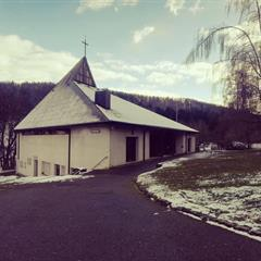 The chapel for weddings