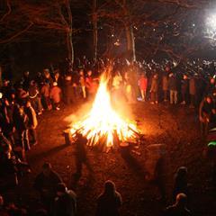 Ferrette Torchlight New Year's Eve - © Sundgau Tourist Office