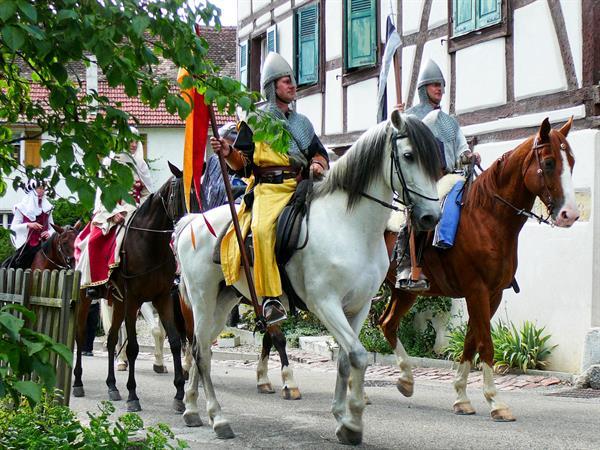 Medieval festival in Ferrette www.Ferrette-medievale.org