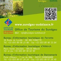 - © Carte du Sundgau à vélo