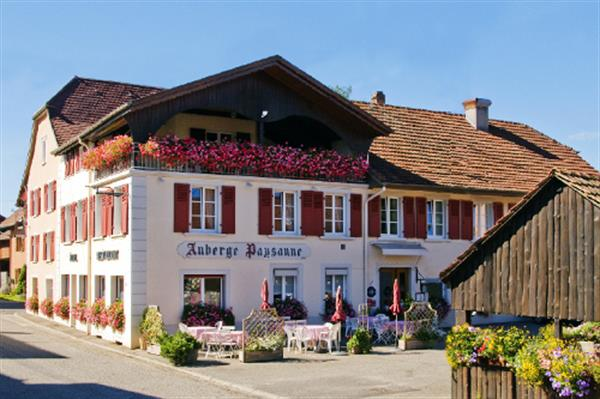 Restaurant of the Auberge and hostellerie Paysanne LUTTER