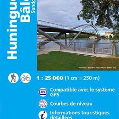 - © Carte IGN Huningue Bâle