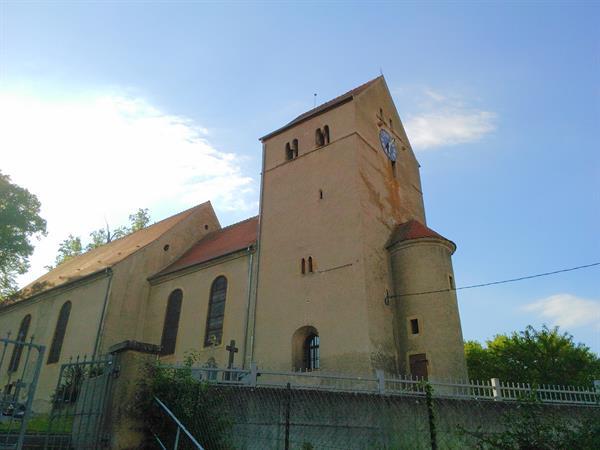 Autour du clocher roman d'Obermorschwiller