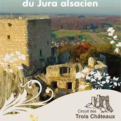 - © Couverture du guide 'A la découverte des châteaux du Jura alsacien'