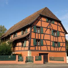 La plus ancienne maison paysanne du Sundgau située à Friesen