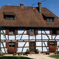 Une belle restauration des années 1990 à Friesen