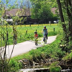 - © Piste cyclable de la vallée de l'Ill