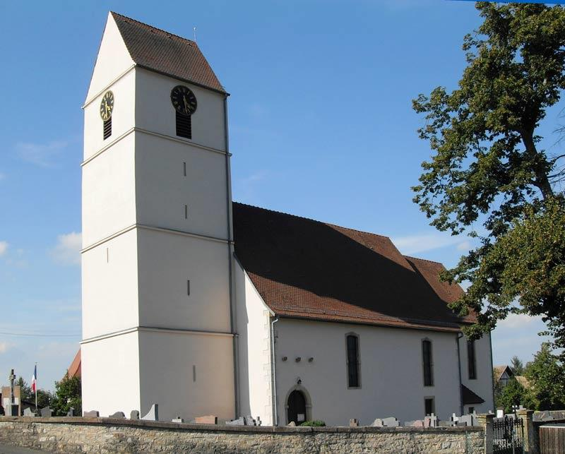 Saint Leger Church in Koestlach